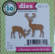 Small Deer Set Steel Die for Scrapbooking