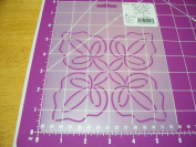 Thimbleberries Leaf 13cm Quilting Stencil by Quilting Creations