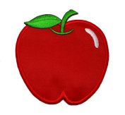 Cute Apple DIY Applique Embroidered Sew Iron on Patch AP-001