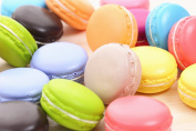 JKing Simulation Artificial Small Fake Dessert Macarons Cake Dessert Pastry Decoration Cabinets Display Photography Props Assorted colours