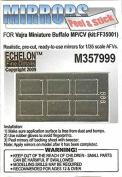 Echelon Fine Decal 1:35 Buffalo MP CV Mirror Adhesive for Vajra Kits #M357999