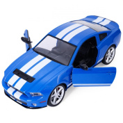 Goplus® New 1/14 Radio Remote Control RC Model Car Ford Mustang Shelby GT500 Blue New