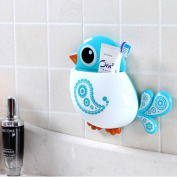 New Lovely Funny Attractive Bird Pattern ToothBrush Holder.