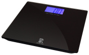 BeActive Deluxe Digital Bathroom Scale - XL Blue Backlit LCD Display with Large Fonts for Easy Reading