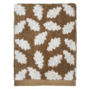 Peri Home Oak Leaf 100% Cotton Hand Towel, 38cm x 70cm , Brown