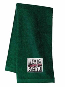 WP Feather River Embroidered Hand Towel Forest Green [24]