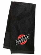 Chicago & Northwestern Embroidered Hand Towel Black [17]