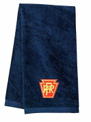 Pennsylvania Railroad Embroidered Hand Towel Navy [09]
