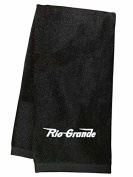 Rio Grande Speed Lettering Embroidered Hand Towel Black [11]