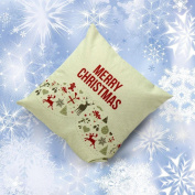 Yoyorule Christmas Sofa Bed Home Decoration Festival Pillow Case Cushion Cover