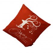 Yoyorule Christmas Deer Sofa Bed Home Decoration Festival Pillow Case Cushion Cover