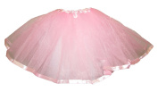 Hairbows Unlimited Light Pink Ribbon Lined Dance Ballet Tutu