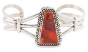 Navajo Native American Spiny Oyster Shell Bracelet by Eugene Belone