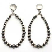 Silver Bead Earrings