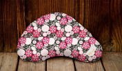 Littlebeam LBNP27 Red Flowers Nursing Pillow, Exclusive Collection