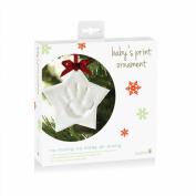 Tiny Ideas Baby's Handprint Ornament, Star