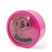 Baidecor ABS Pink Money Box Piggy Bank