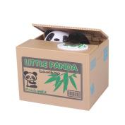 Baidecor Cute Stealing Coin Panda Money Box Piggy Bank