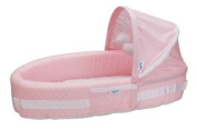 LulyBoo Baby Lounge to Go, Pink Dots