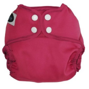 Imagine Baby Products Snap Nappy Cover, Raspberry