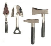 Dollhouse Miniature Outdoor Tool Set by Miniatures World