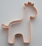 Simple 10cm Giraffe Cookie Cutter