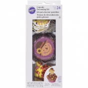 Wilton 415-3276 Scarecrow Cupcake Decorating Kit, Assorted