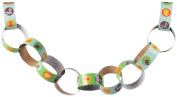 Party Partners Paper Chain Party Decoration, Forest Friends