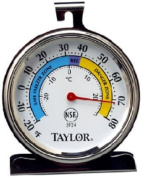 Taylor Classic Series 5924 Freezer-Refrigerator Thermometer, Large Dial NEW