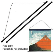Set of 2 Pieces 80cm Japanese Furoshiki Plastic Stick String Wall Hanging Hanger Rod