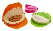 Zoie + Chloe 3-Piece Dough Press Set - Dumpling Calzone Ravioli Empanada Turnover Pierogi