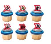Avengers Reassemble Cupcake Rings 24 Ct