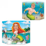 Beistle Mermaid Photo Property, 0.9m by 60cm , Multicolor