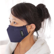 ZWZCYZ 2014 New Unisex Adult PM 2.5 pollen dust mask Washable Activated carbon filter into /Three-dimensional cotton masks