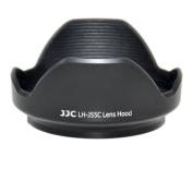 JJC Bayonet Lens Hood LH-J55C Black replaces LH-55C for OLYMPUS M.ZUIKO DIGITAL ED 12-50mm 1:3.5-6.3 EZ Lens