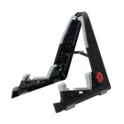 Professional Adjustable Folding Ukulele and Violin Instrument Stand Black