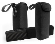 FitSand(TM) Travel Sleeve Soft Portable Carrying Bag Pouch Box Case Cover for DKnight Magicbox II Bluetooth Speaker