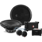 Rockford Fosgate Punch P165-SE 240W 17cm Punch Series Euro Fit Compatible 2-Way Component System w/ External Crossover Network