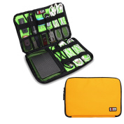 Damai Electronics Accessories Carry On Bag / Cable Organiser / USB Drive Shuttle / Hard Drive Case-Large