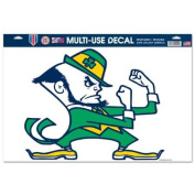 Notre Dame Fighting Irish Official NCAA 28cm x 43cm Car Window Cling Decal by Wincraft