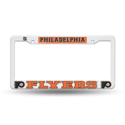 Philadelphia Flyers Official NHL 30cm x 15cm Plastic Licence Plate Frame by Rico Industries