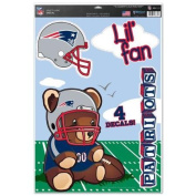 New England Patriots Official NFL 28cm x 43cm MultiUse Car Decal by Wincraft