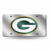 Green Bay Packers Official NFL 30cm x 15cm Plastic Licence Plate by Rico Industries