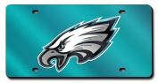 Philadelphia Eagles Official NFL 30cm x 15cm Laser Cut Licence Plate by Rico Industries