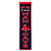 WinningStreakSports 49103 Boston Red Sox Man Cave Banner