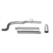 Gibson 17805 Cat-Back Performance Exhaust System, Single Straight Rear