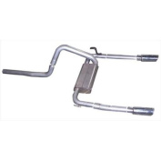 Gibson 320000 Cat-Back Performance Exhaust System, Dual Split Rear