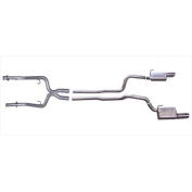 Gibson 319007 Cat-Back Performance Exhaust System, Dual Split Rear