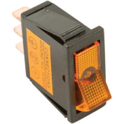 Battery Doctor 20531 On/Off Illuminated 20A Amber Rocker for 12mm x 30mm Slot