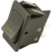 Battery Doctor 20530 On/Off LED Illuminated 20A Orange Rocker for 20mm x 34.5mm Slot